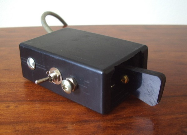 Project Box Key, (VK7CW).